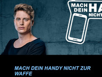 """""""Mach dein Handy nicht zur Waffe"""" - Einladung zur Online-Veranstaltung"""