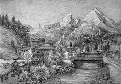 Watzman from Berchtesgaden