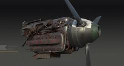 DB603 V12 Engine