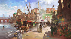 Fantasy Medieval Port
