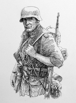 German WWII Soldier