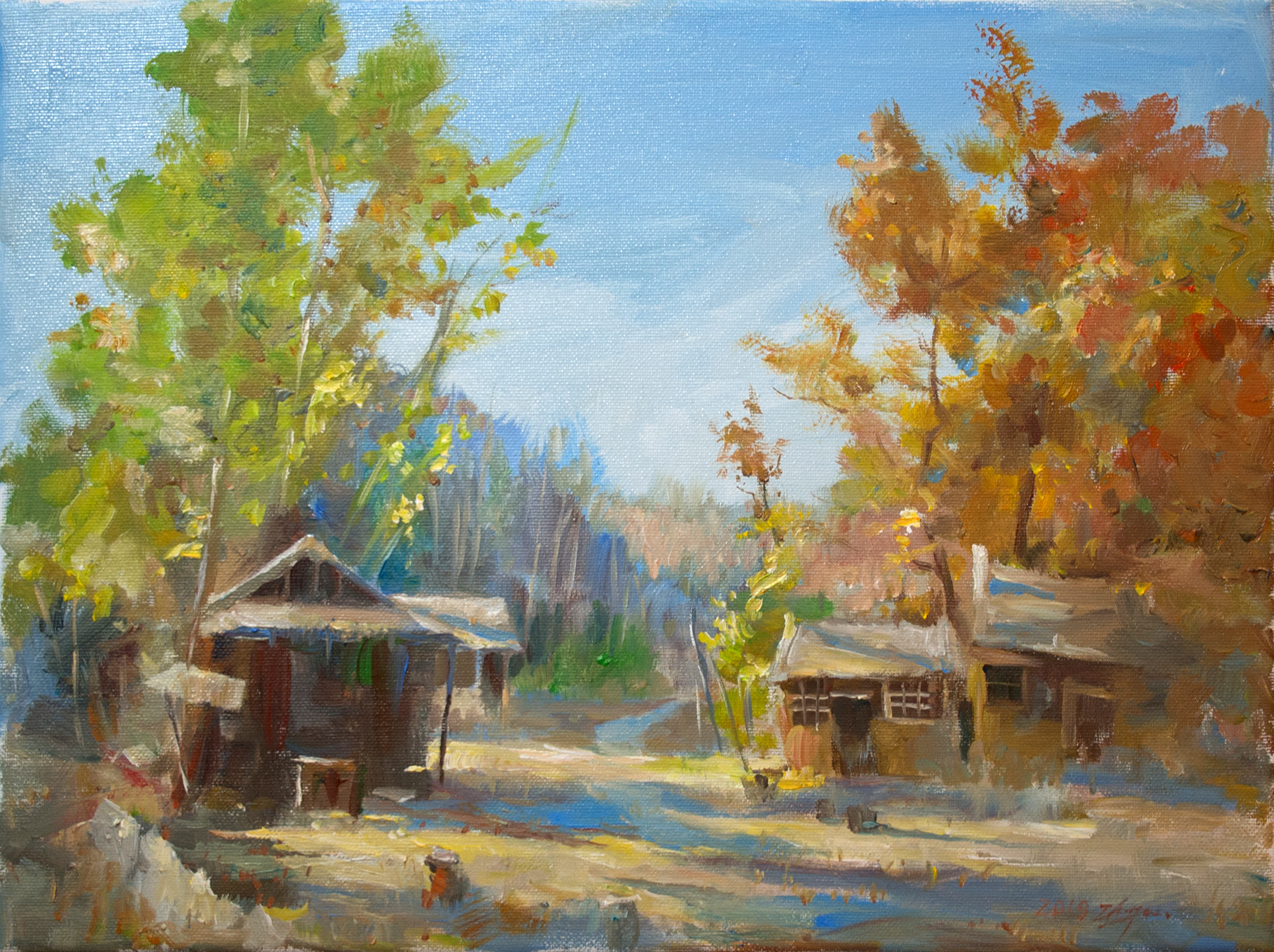 Jinshanling Autumn