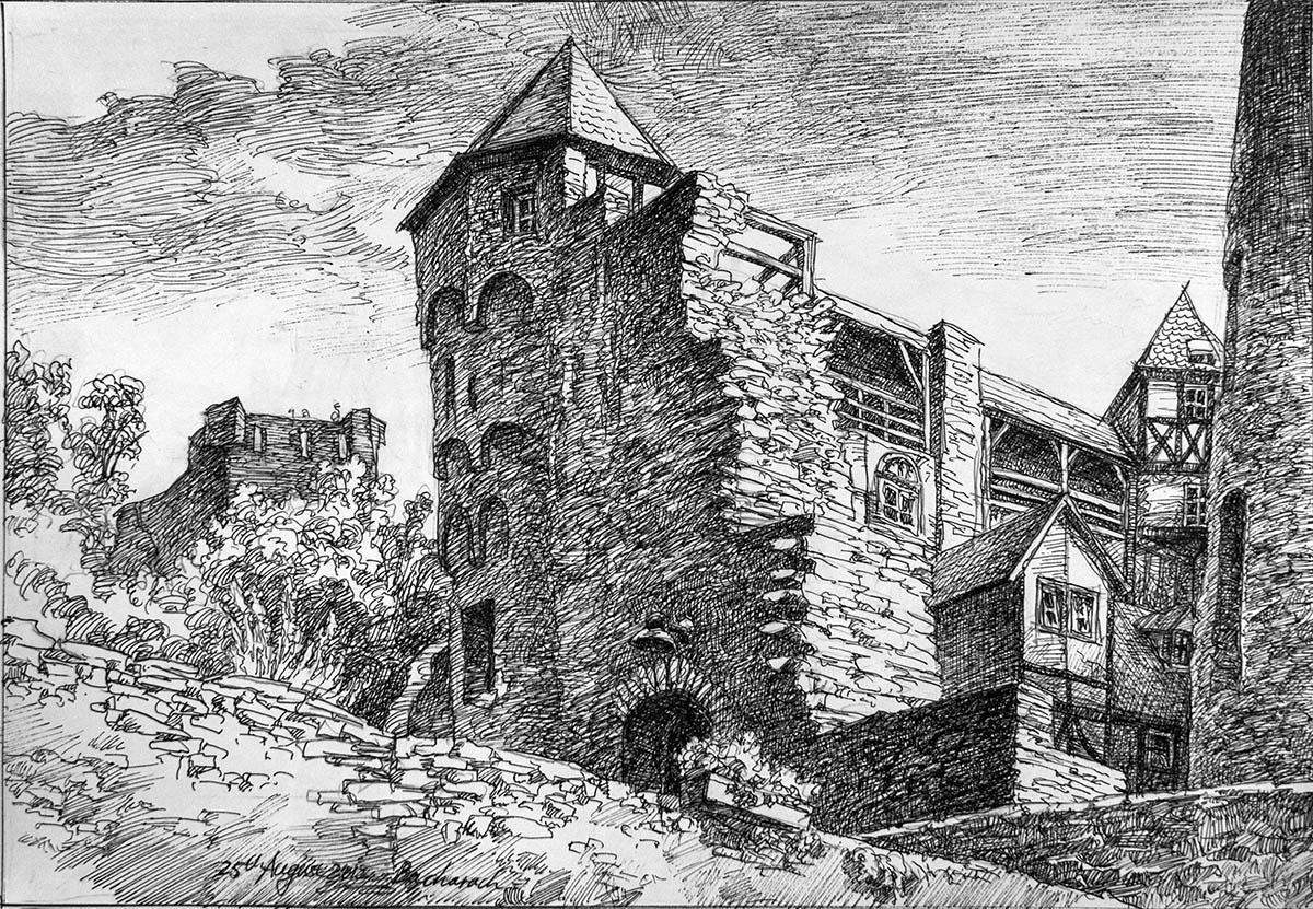 Bacharach Burg Stahleck
