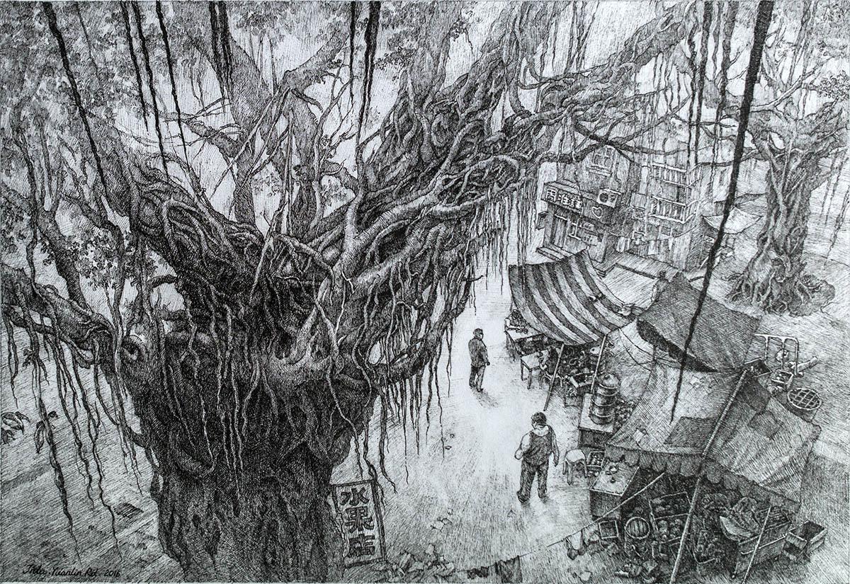 The Giant Ficus Tree