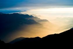 Paradise in fog