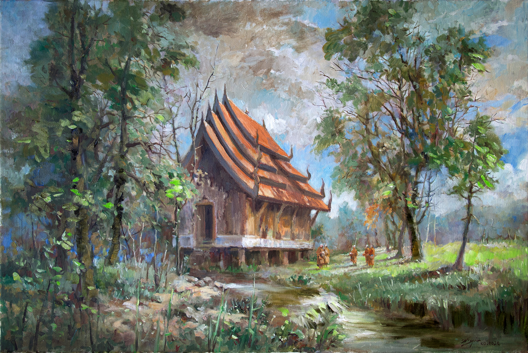 Black Temple Thailand