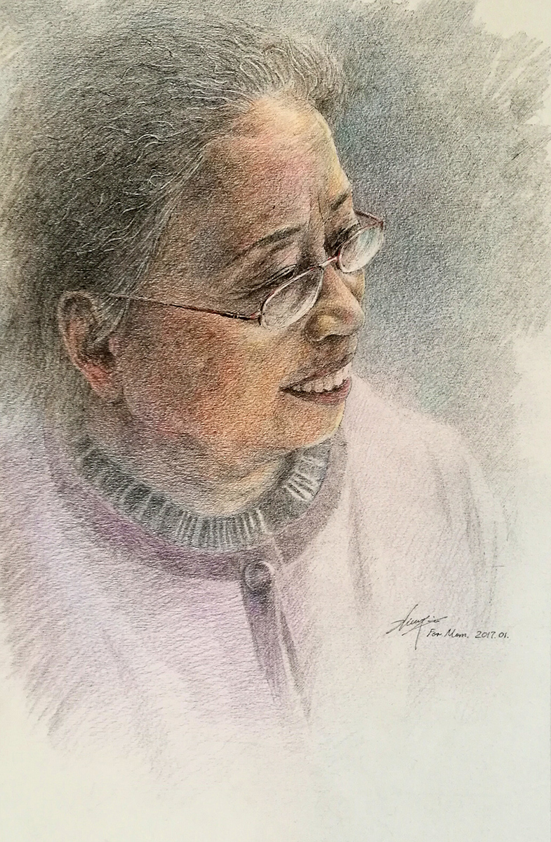 Mom's portrait