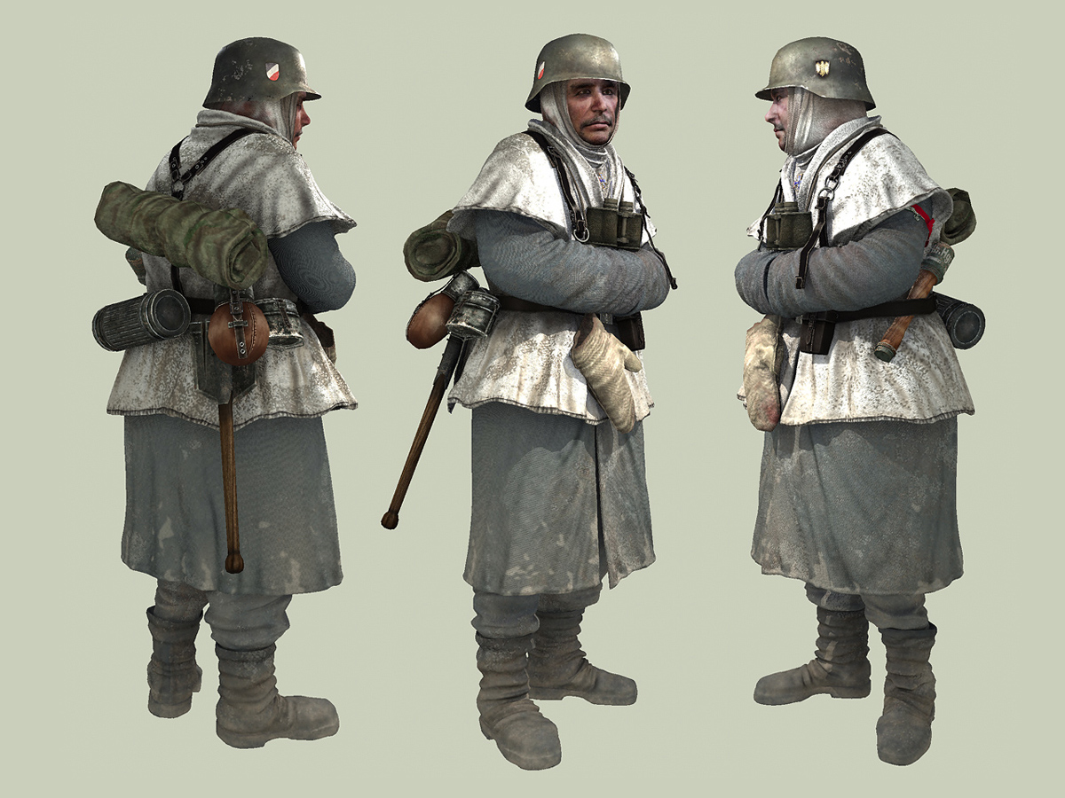 Soldier in Winter