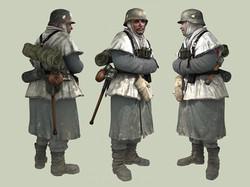 Soldier in Winter