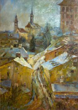 Prage in Winter