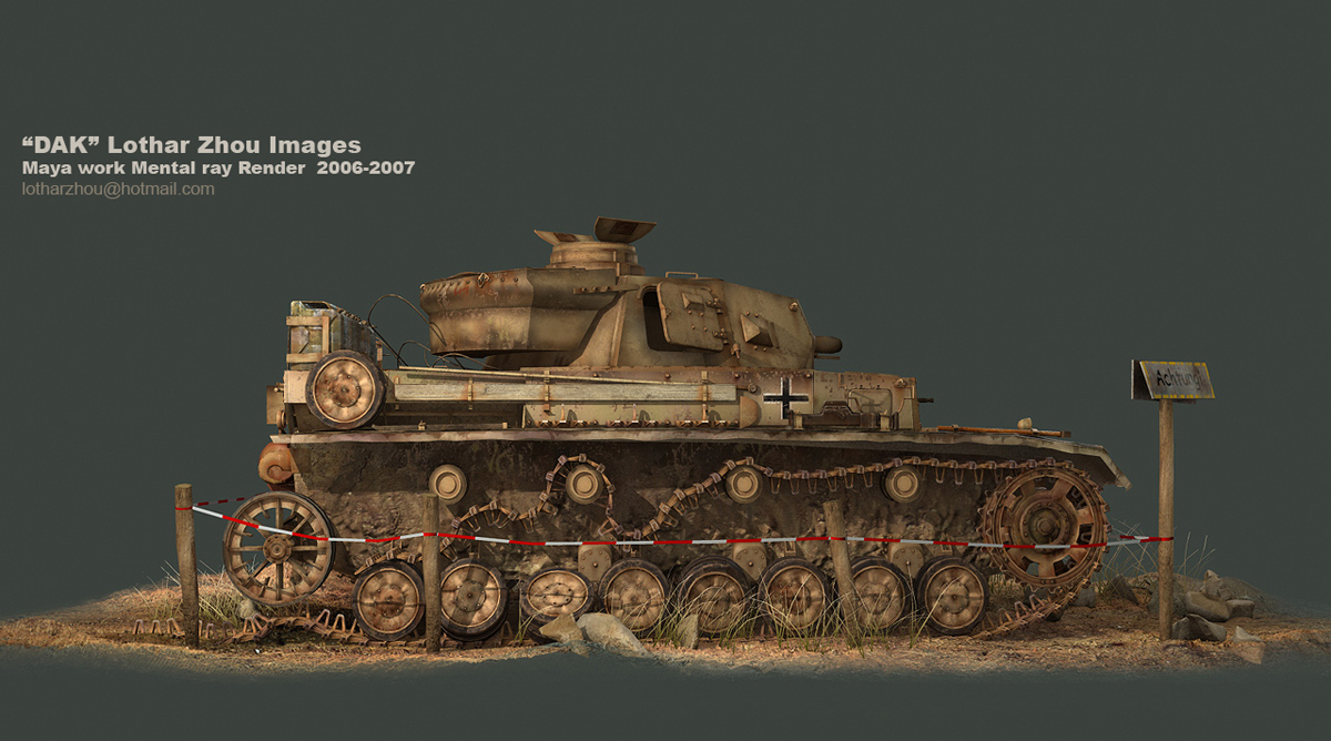 DAK Panzer IV