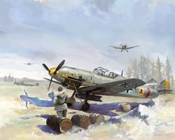 Me109 Easten Front