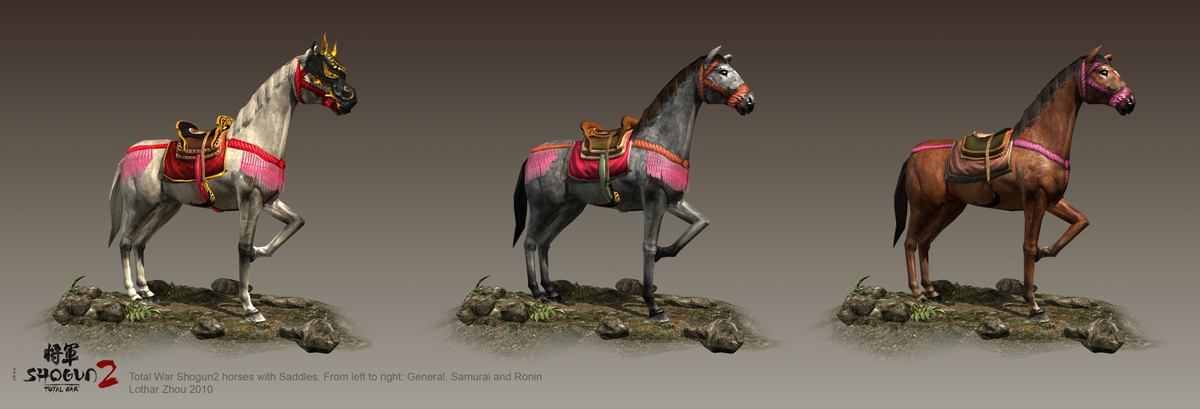 Shogun 2 PC Horse