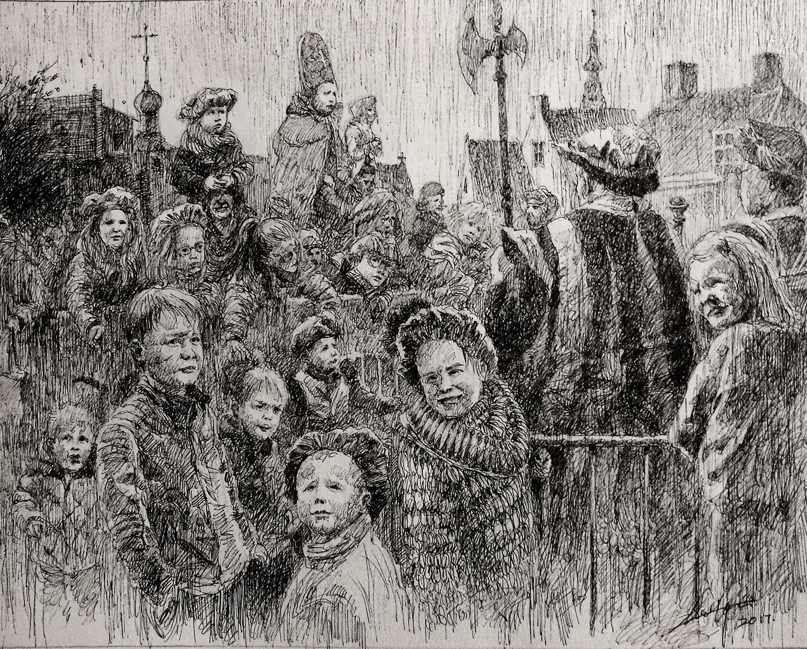 Waiting for Sinterklaas