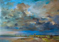 Storm in Zaanse Schaans