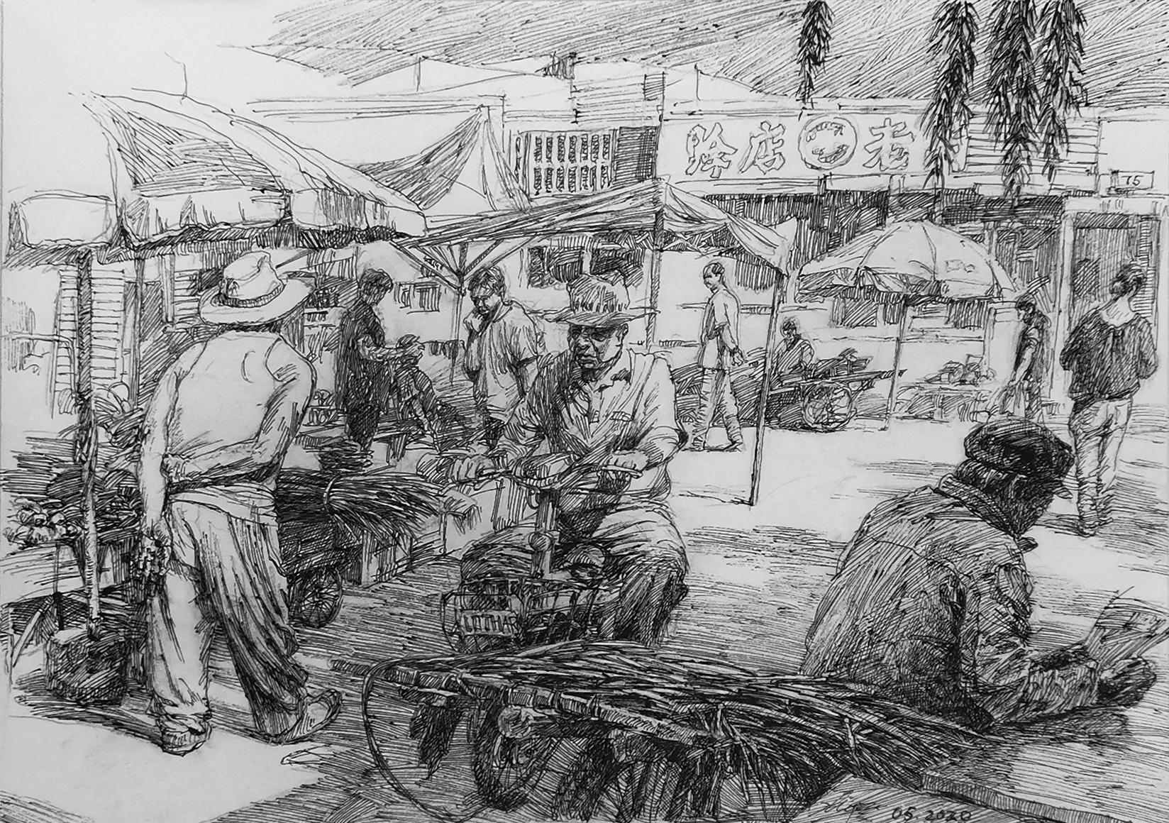 NuanQuan Town Market