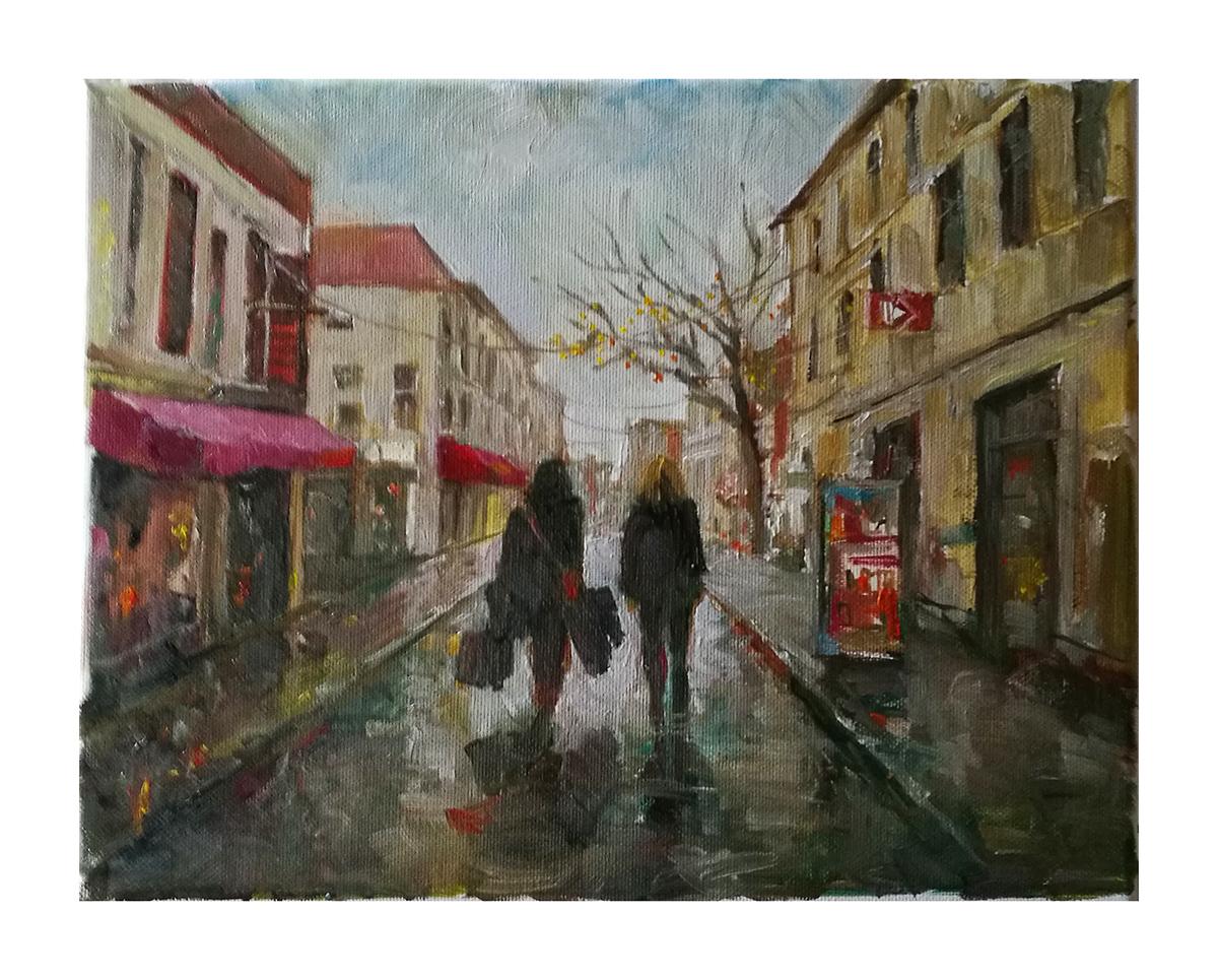 Wet day in Breda