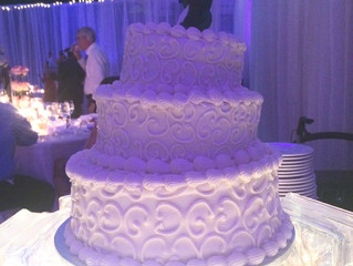Leaning Tower of Wedding Cake