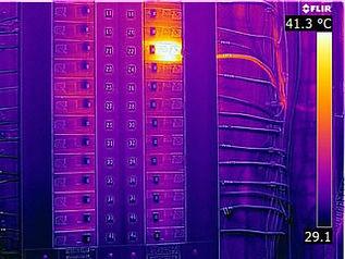 elektrik ekipman kontrol termal kamera