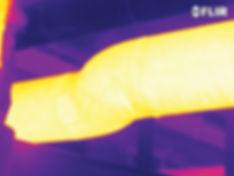 boru tıkanma kontrol termal kamera