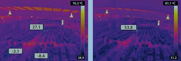 yangın kontrol termal kamera