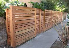 Horizontal Semi Privacy Wood Fence.jpg