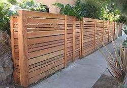Horizontal Semi Privacy Wood Fence.jpg