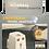 Thumbnail: Universal AC Plug World Travel Converter Adapter with 2 USB Ports