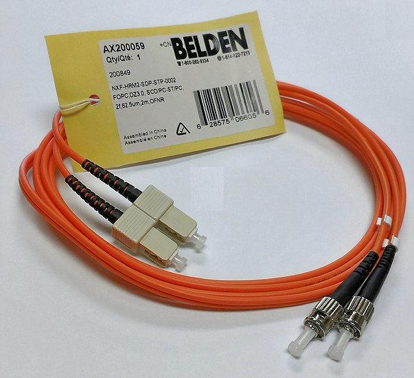 BELDEN 6FT Fiber Optic Assemblies Cable (Final Sales Item)