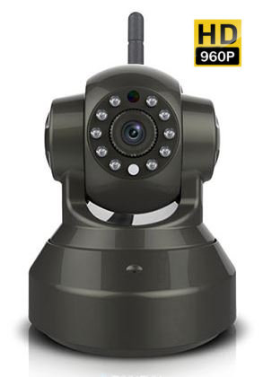 HD 960P Pan/Tilt Wired/Wireless Security Surveillance IP Camera