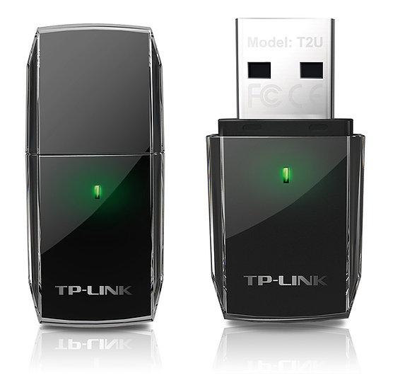 TP-LINK AC600 Archer T2U Wireless Dual Band USB Adapter