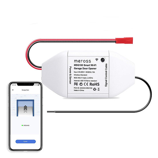 Meross MSG100 Smart Wi-Fi Garage Door Opener