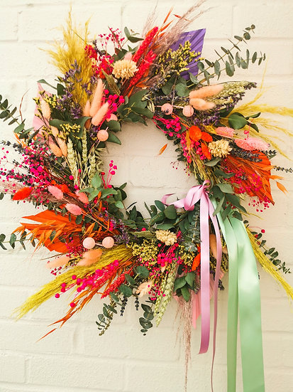Spring/summer door wreath