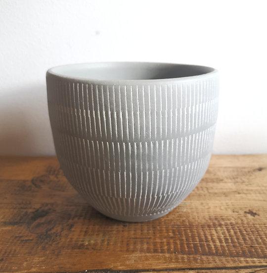 Grey Ceramic Pot