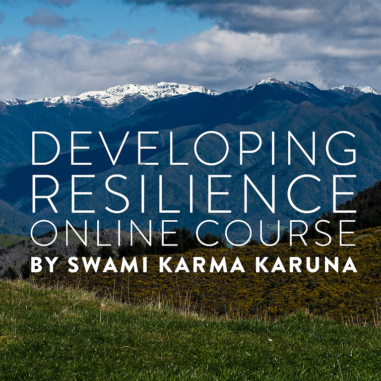 Developing Resilience - A Short Online Course