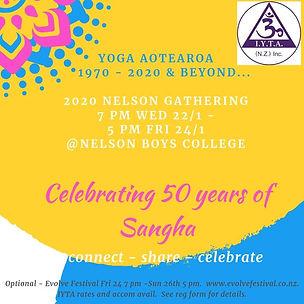 2020 IYTA Nelson Gathering Wed Jan 22nd
