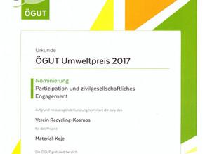 ÖGUT Umweltpreis 2017