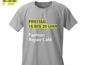 """23.02.2018  Fashion Repair Caféauf """"Circular Fashion Week"""""""