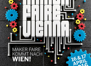 16. + 17.4. 2016 - Recycling-Kosmos goes Maker Faire