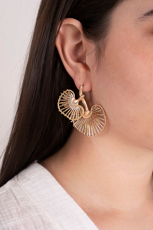 Coriolus Earrings
