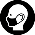 Icon of person wearing a mask
