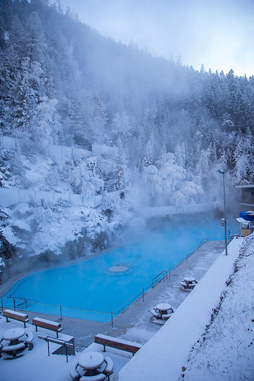 Image result for radium hot springs