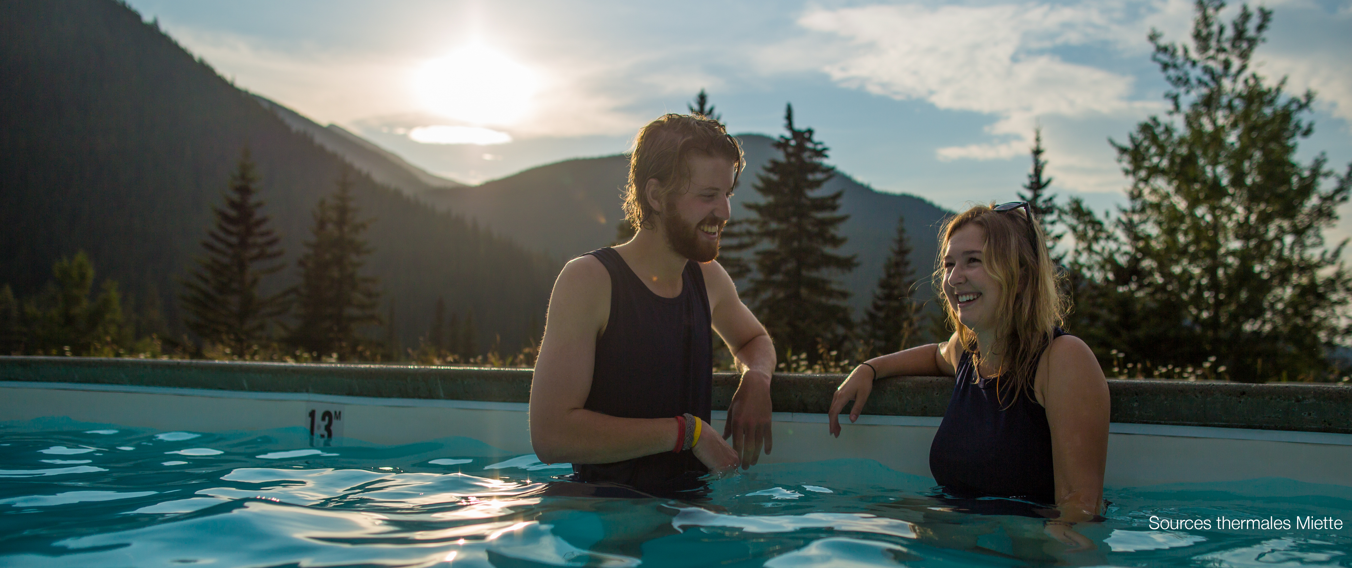 CRHS-Evening Hotsprings couple-Parks Canada-Olivia Robinson FRb