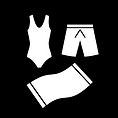 des maillots et une serviette