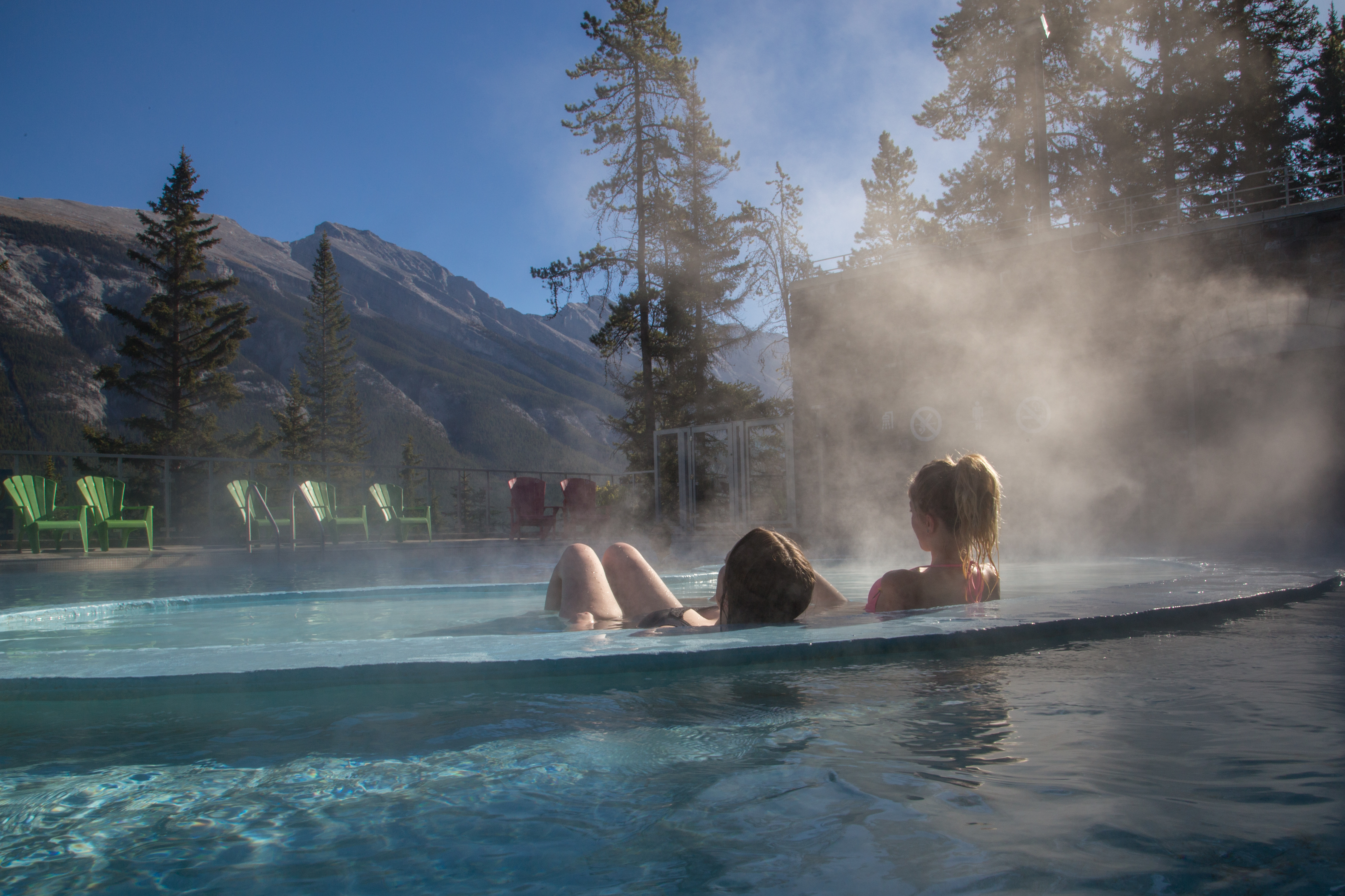 CRHS-BUHS-Young Women in Hot Springs-Credit-Parks Canada-Olivia Robinson