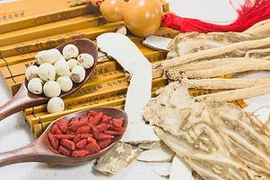 Canva - Chinese medicinal herbs combinat