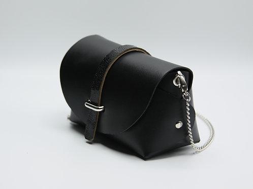 Petit sac passant / Noir mat