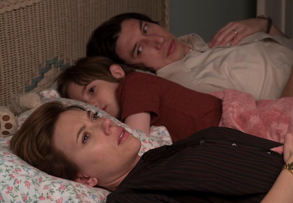 Scarlett Johansson, Azhy Robertson and Adam Driver in Noah Baumbach's Marriage Story
