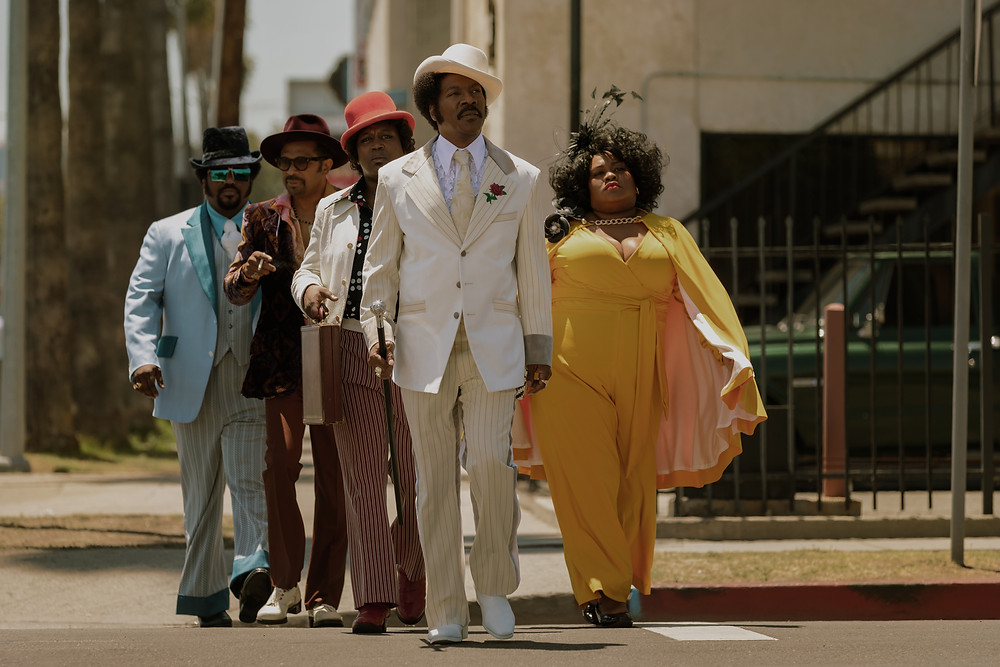 Craig Robinson, Mike Epps, Tituss Burgess, Eddie Murphy and Da'Vine Joy Randolph in Craig Brewer's Dolemite Is My Name
