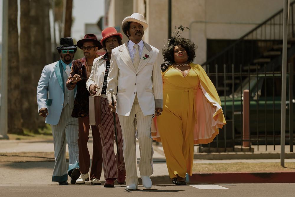 Craig Robinson, Mike Epps, Tituss Burgess, Eddie Murphy and Da'Vine Joy Randolph in Craig Brewer's Dolemite Is My Name